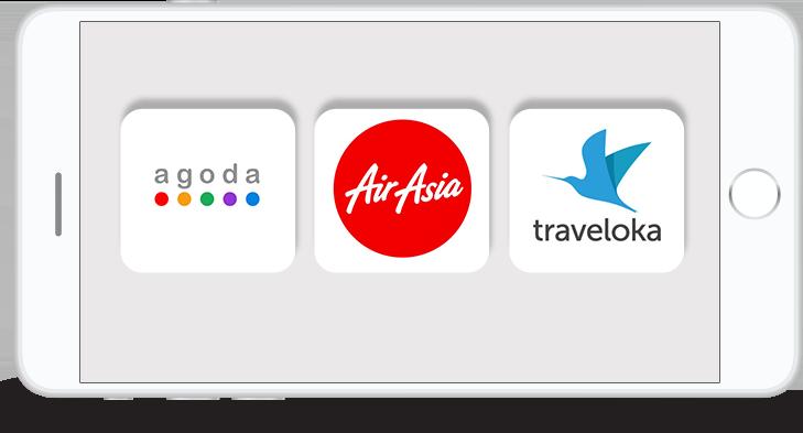 จองตั๋วเครื่องบินแอร์เอเชีย จองตั๋วเครื่องบินนกแอร์ จองตั๋วการบินไทย agoda thailand ไม่ใช้บัตรเครดิต